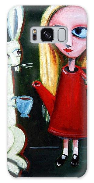 Alice A Tea Pot Galaxy Case