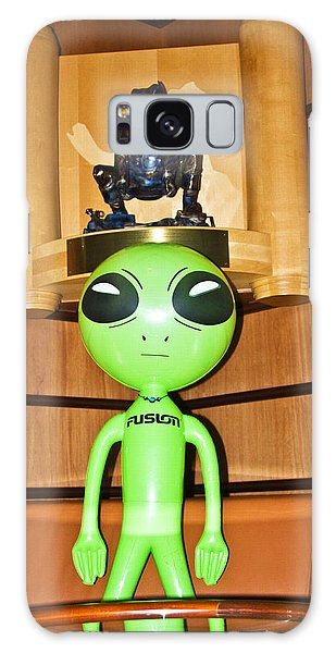Alien In The Corner Booth Galaxy Case