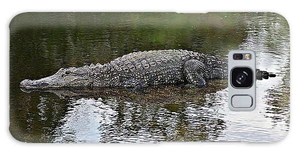 Alligator 1 Galaxy Case by Joe Faherty