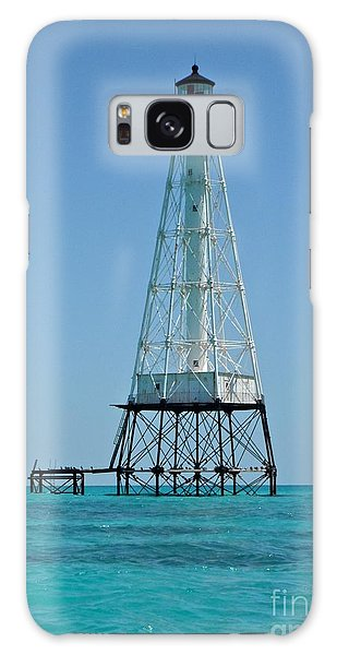 Alligator Lighthouse Galaxy Case by Carol  Bradley