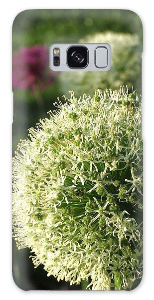 Allium Unique Floral Galaxy Case