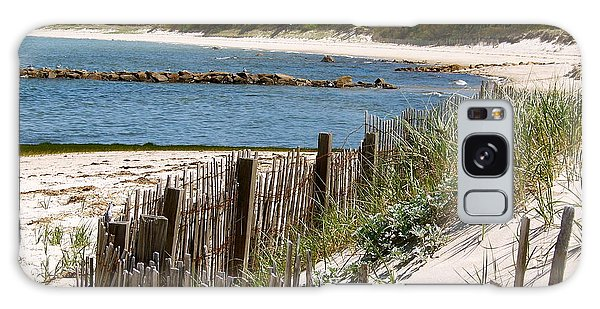 Along The Shoreline Of Brewster Beach Galaxy Case by Robin Regan