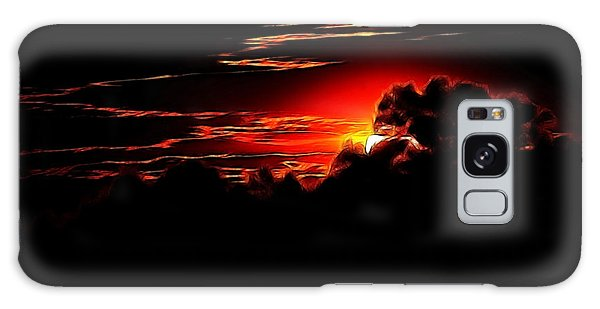 Altered Sunset Galaxy Case