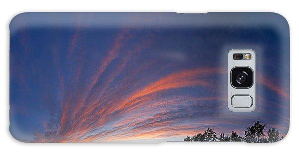 Amazing Clouds Edmonton Galaxy Case