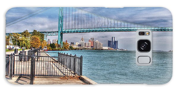 Ambassador Bridge Detroit Mi Galaxy Case