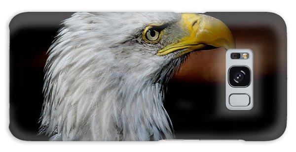 American Bald Eagle Galaxy Case by Steve McKinzie