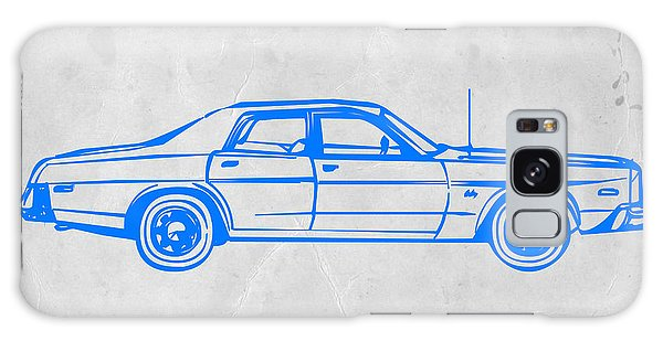 Old Road Galaxy Case - American Car by Naxart Studio