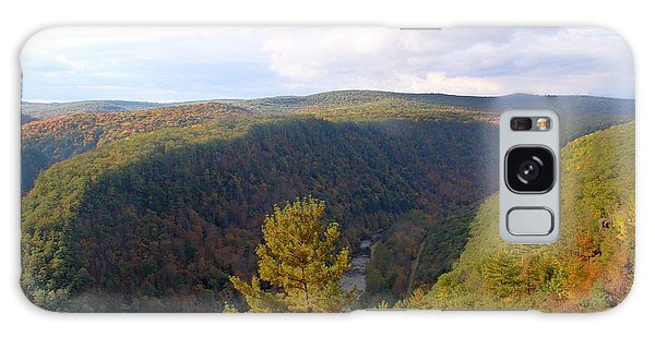 Wellsboro Galaxy Case - An Evening At The Pennsylvania Grand Canyon by Laurie Cybulak