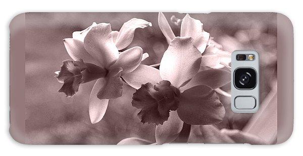 An Orchid Dream Galaxy Case by Kerri Ligatich