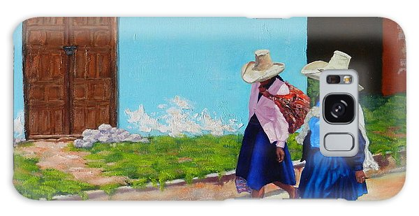 Andean Ladies, Peru Impression Galaxy Case