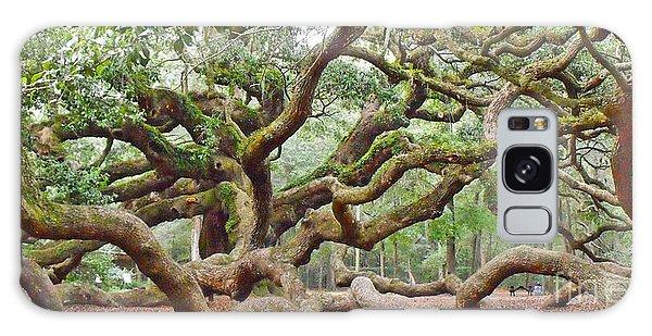 Angel Oak Galaxy Case by Val Miller