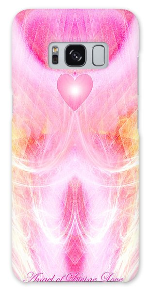 Angel Of Divine Love Galaxy Case