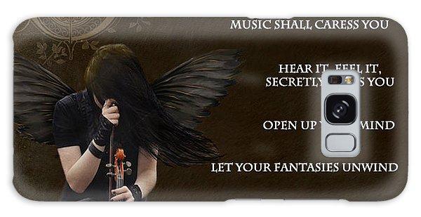 Angel Of Music Galaxy Case