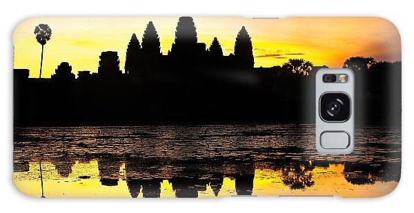 Angkor Wat At Sunrise Galaxy Case