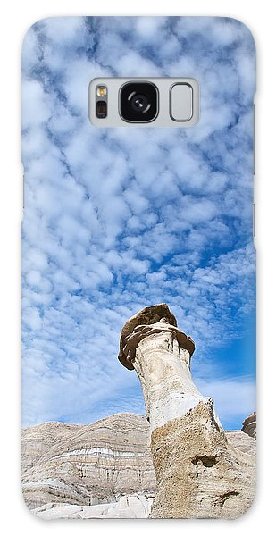 Angled Hoodoo And Clouds Galaxy Case