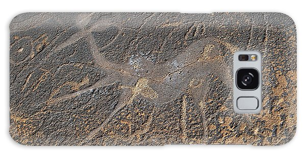Antelope Petroglyph Namibia Galaxy Case