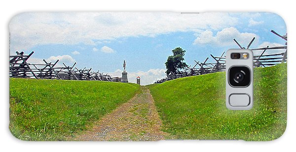 Antietam Battle Of Bloody Lane Galaxy Case by Cindy Manero