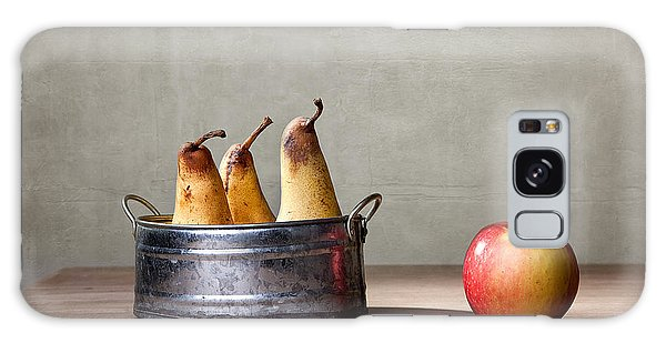 Cottage Galaxy Case - Apple And Pears 01 by Nailia Schwarz