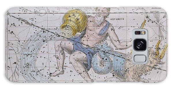 Aquarius And Capricorn Galaxy Case by A Jamieson