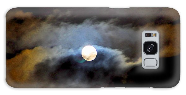 Aquarius Full Moon Galaxy Case