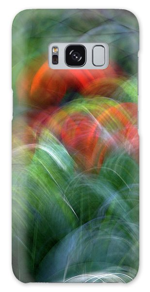 Arches Of Flowers Galaxy Case by Raffaella Lunelli
