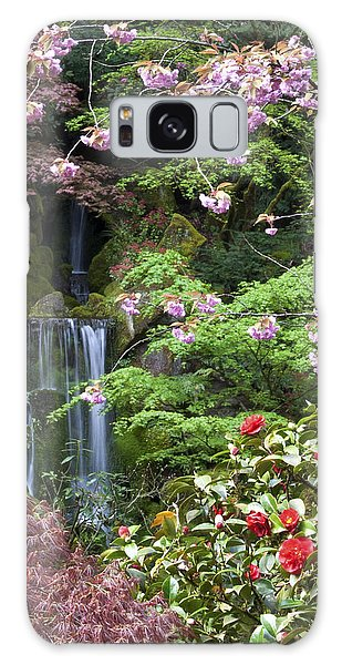 Arching Cherry Blossoms Galaxy Case