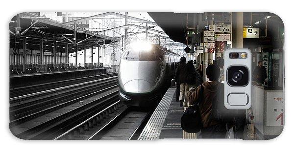Train Galaxy S8 Case - Arriving Train by Naxart Studio