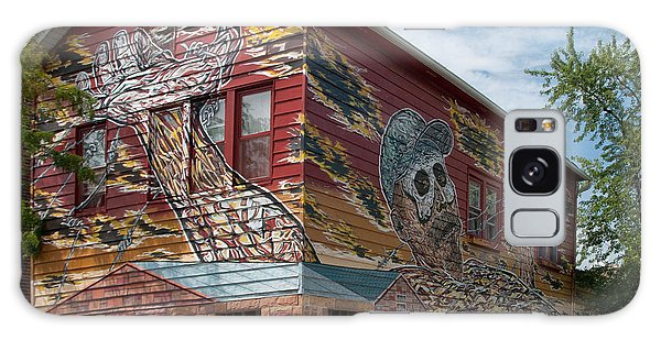 Art House South Chicago Mural Galaxy Case by Loriannah Hespe