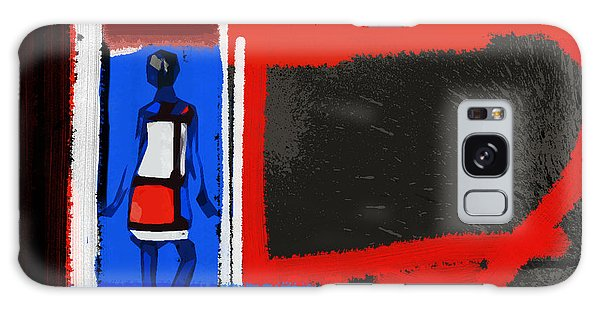 Art Deco Galaxy S8 Case - Art Scene by Naxart Studio