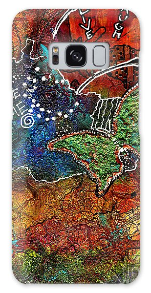 Song Birds Galaxy Case - Art Therapy by Angela L Walker