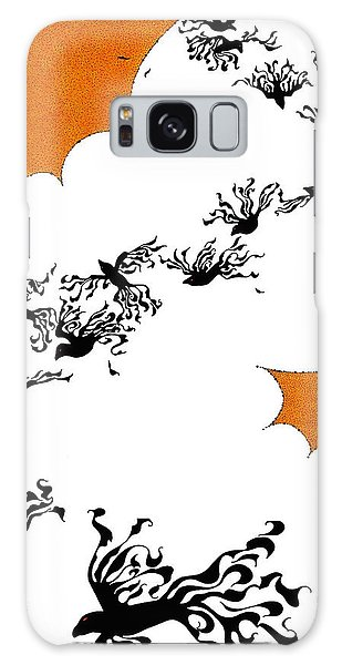 As The Crows Fly Galaxy Case