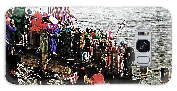 Ashes To Water Mardi Gras Day In New Orleans Galaxy Case