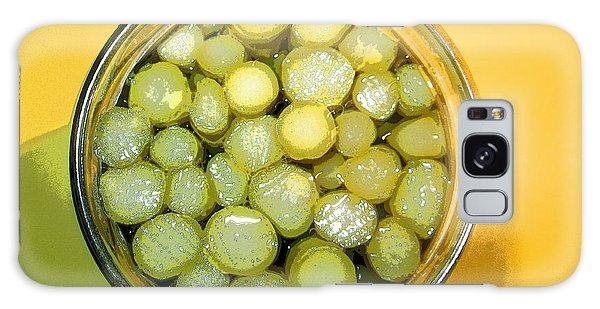 Asparagus In A Jar Galaxy Case by Kym Backland