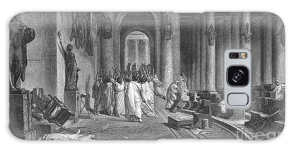 Ides Of March Galaxy Case - Assassination And Death Of Julius by Photo Researchers