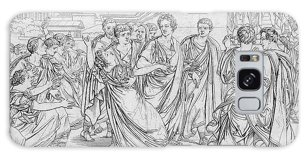 Ides Of March Galaxy Case - Assassination Of Julius Caesar, 44 Bc by Science Source