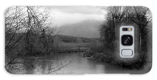 At The River Turn Bw Galaxy Case