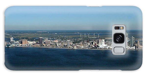 Atlantic City Skyline Panoramic Galaxy Case