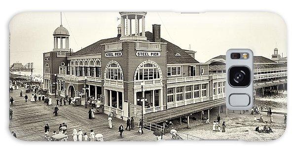 Board Walk Galaxy Case - Atlantic City Steel Pier 1910 by Bill Cannon