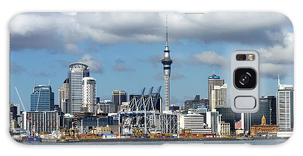 Auckland Skyline Galaxy Case