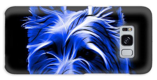 Australian Terrier Pop Art - Blue Galaxy Case