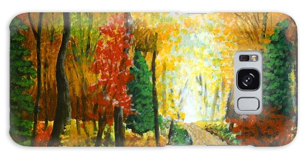 Autumn Afternoon Galaxy Case
