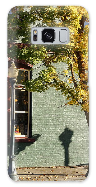 Autumn Detail In Old Town Grants Pass Galaxy Case by Mick Anderson