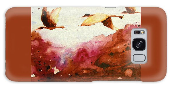 Autumn Flight Galaxy Case