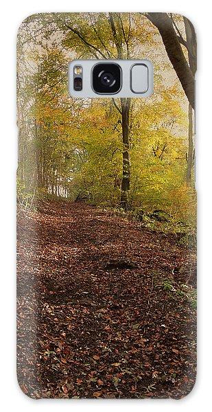 Autumn In Brantingham Woods Galaxy Case