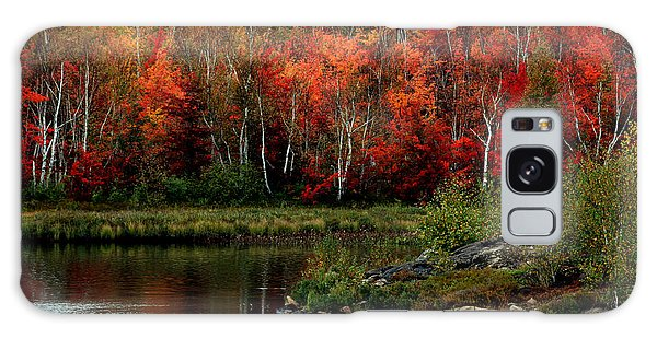 Autumn In Canada 2 Galaxy Case
