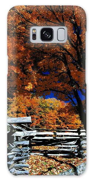 Autumn In Holderness Galaxy Case