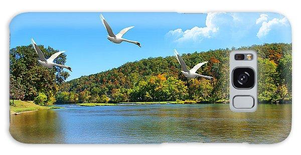 Autumn Landing Galaxy Case by Rick Friedle
