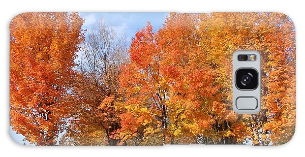 Autumn Leaves Galaxy Case by Athena Mckinzie