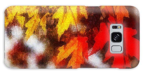 Autumn Leaves II Galaxy Case