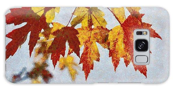 Autumn Leaves IIi Galaxy Case